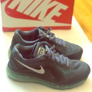 Nike Women Air Max 2014 - Black Grey Green